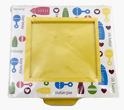 """Baby Square Picture Frame 3.25"""" X 3.25"""" Inside New!"""