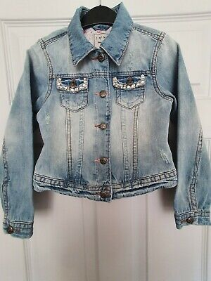 Girls Next  Denim Jacket Age 7‐8 Years