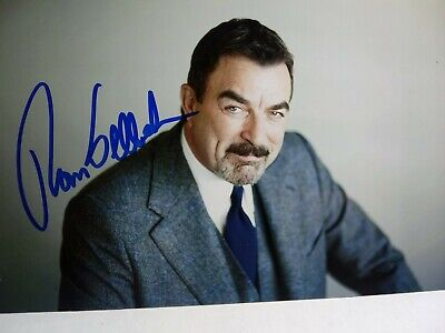 Tom Selleck  Authentic Hand Signed Autograph 4X6 Photo - FAMOUS ACTOR