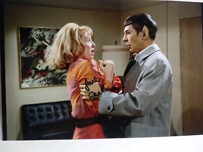 TERI GARR Authentic Hand Signed Autograph 4X6 Photo with SPOCK - STAR TREK