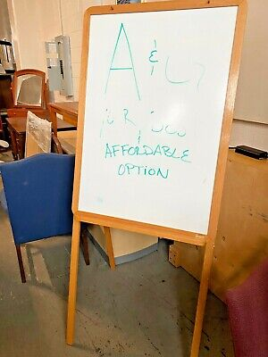 "PORTABLE WHITE MARKER BOARD by BAKER 72""H"