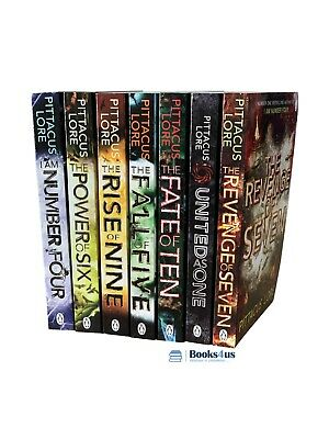 The Lorien Legacies Series 7 Books Collection By Pittacus Lore, The Revenge