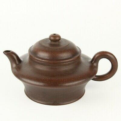 Chinese Antique Yixing Purple Sand Zisha Teapot