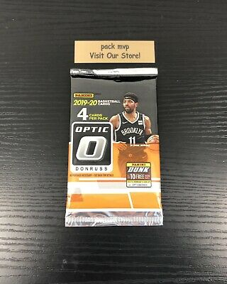 2019-20 Donruss Optic Basketball Retail Pack New NBA Zion Williamson Morant RC ?