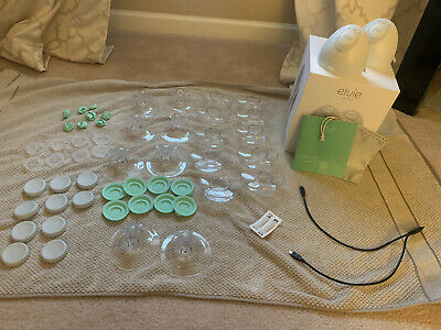Double Elvie Hands Free Pumps + Extras Of All Accessories. Barely Used!!