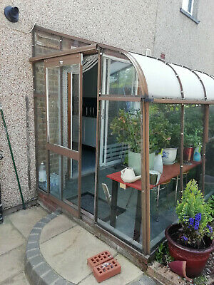 Vintage Crittal Conservatory Lean-To
