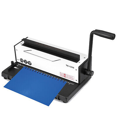 Plastic Spiral Coil Insert Binding Machine Binder Manual