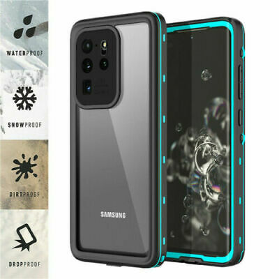 Galaxy S20 Ultra Plus S20+ 5G Case Waterproof Shockproof Heavy Duty Rugged Cover
