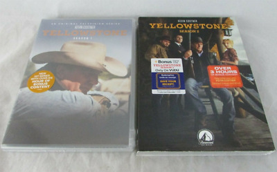 Yellowstone: Season 1 & 2 (DVD, 8-Disc, Region 1 US) Fast Shipping US Seller