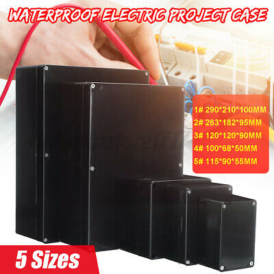Enclosure Box Electronic Waterproof Plastic Electrical Project Junction Case