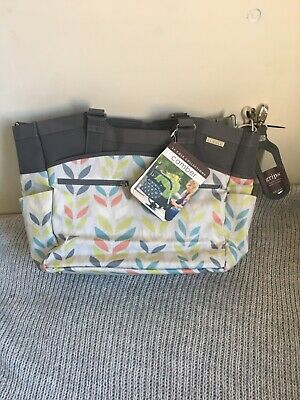 JJ Cole colorful baby changing bag brand new