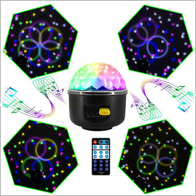 2 x Disco Party Lights Stage Ball Light RGB Colors LED DJ Indoor Dance Bulb Lamp