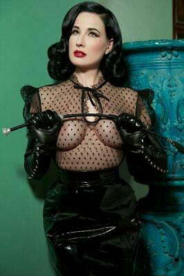 Dita Von Teese A4 Glossy Photo *12