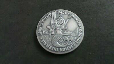 "Germany (?) Commemorative, ""Station Thermale, Bade"", Medallion/Token. Leukerbad."