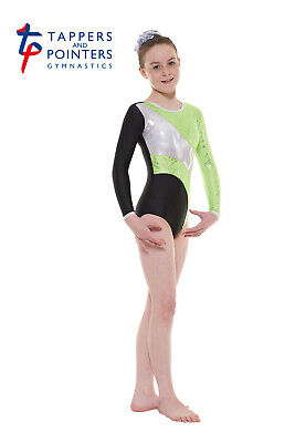 Girls Long-sleeved Gymnastic Leotards, Tappers & Pointers GYM 38