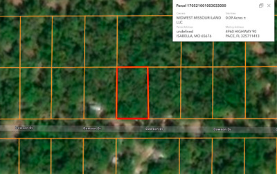 *Private Wooded Missouri Lot! No Reserve! Warranty Deed!*