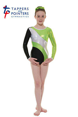 Girls Long-sleeved Gymnastic Leotards, Tappers & Pointers GYM//42