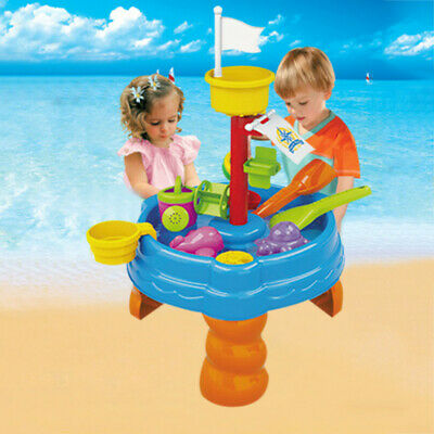 Sand & Water Table Watering Can & Spade Kids Outdoor Garden Sandpit Toys Set