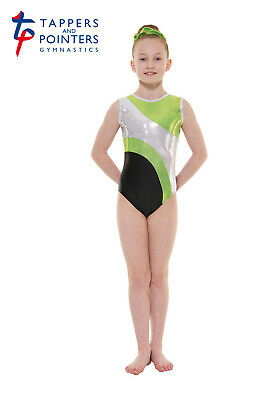 Girls Sleeveless Gymnastic Leotards, Tappers & Pointers Gym41