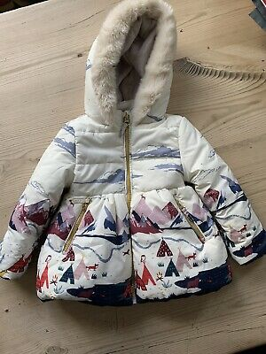 Marks And Spencer Girls Winter Coat 1-1/2Years