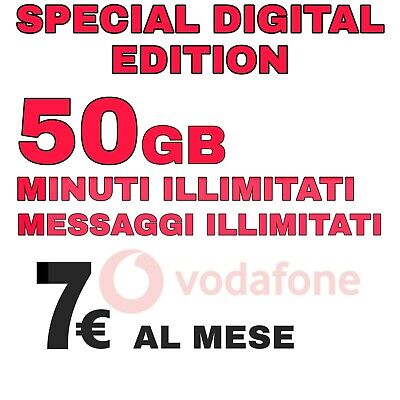 Passa A Vodafone Special Unlimited-50Gb/7-Iliad-Virtuali