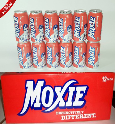 Moxie Soda 12-12oz Cans  - Freshest stock available shipped from Maine - Yessah!