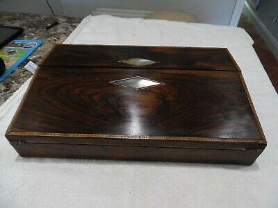 Victorian Ladies Rosewood Writing Slope - For Some Restoration