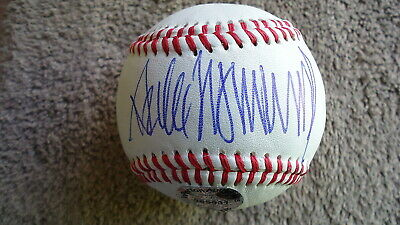 DONALD TRUMP CERTIFIED AUTOGRAPH BASEBALL - w/COA - HAND SIGNED BY THE PRESIDENT