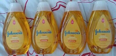 4  bottles Johnson's Baby Shampoos, No More Tears