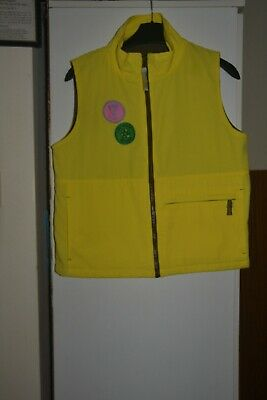 Girl Guides Guiding Gillet Yellow Brownies Uniform