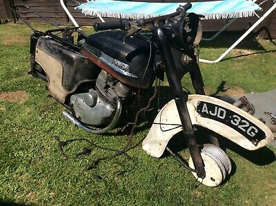 Barn Find 1960 Matching Numbers Norton Jubilee Project