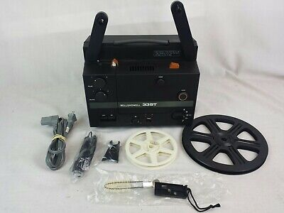 Bell & Howell 33ST SOUND Super 8 Movie Projector,Tested.JM-0152