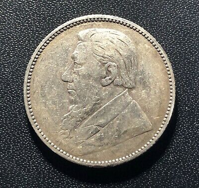 South Africa 1894 1 Shilling Silver Coin