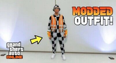 GTA 5 PS4 Modded Outfits