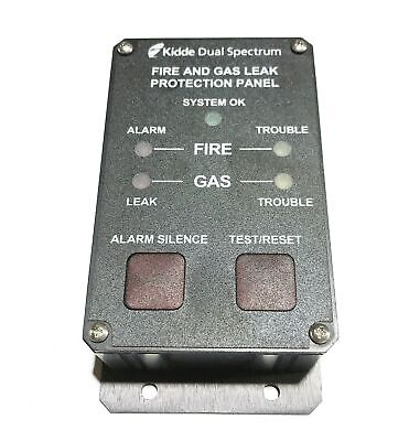 """Kidde """"Dual Spectrum"""" Fire and  Gas Leak Protection Panel 413484-OC-14579 NOS"""