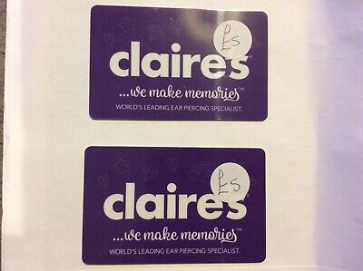 £10 Claire's accessories  Gift Card