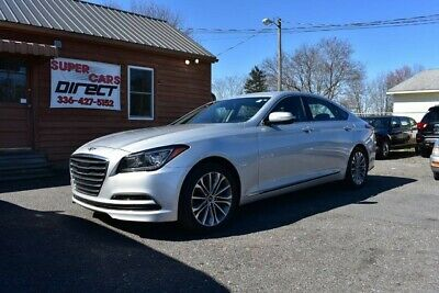 2017 Hyundai Genesis G80 3.8 V6 Rear Camera Clean CarFax One Owner! 2017 Genesis Leather Sunroof Low Miles Sport Mode Navigation Rear A/C Loaded!