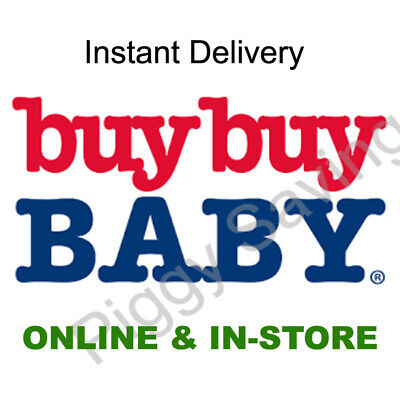 ✔ Buy Buy Baby 20% Off Coupon / Single Item In Store & Online **INSTANT DELIVERY