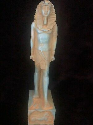 Rare Large Ancient Egyptian Stone Thutmose II Statue ( 1493 to 1479 BC)