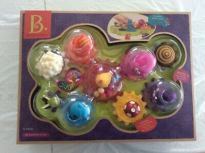 B Toys : Mooosical  Barn, Gears Light-Up With Musical Interactive Shape Sorter