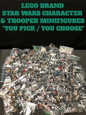 """Authentic Lego Brand Star Wars Character Minifigures Troopers """"You Pick"""" Genuine"""