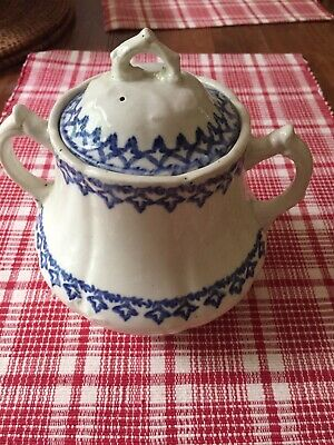 Old Willets marked W M Co, Americana Sugar Bowl
