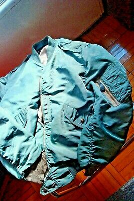 Original 50s Flight Jacket Type L2B Size Large (fits M ) good used condition