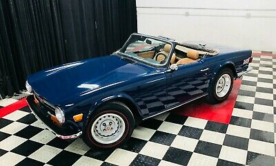 1973 Triumph TR-6  Your caah Mr. Bond Drive a British sports car legend like 007.   Video!