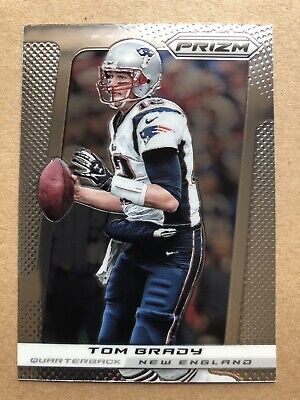 2013 Panini Prizm #64 Tom Brady New England Patriots Buccaneers Football Card