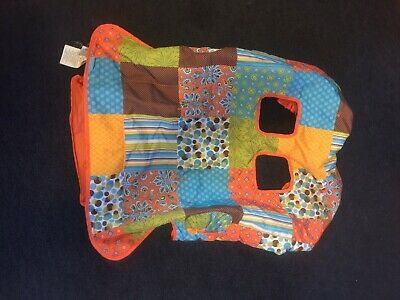 Infantino Multicolored Shopping Cart Cover