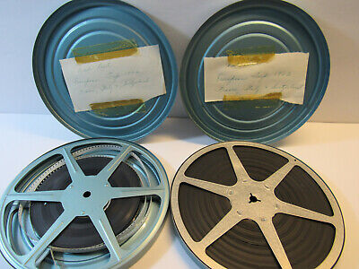 Home Movies - Lot of 2 European Vacation 8mm - 1960's