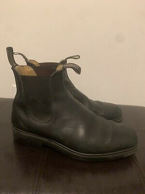 BLUNDSTONE 068 Boots Black Chisel Toe Size USA Mens 10.5