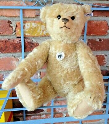Vintage Limited Edition 1908 Blonde Teddy Bear - Fully Jointed Wavy Mohair!