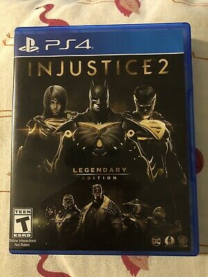 Injustice 2 Legendary Edition (Sony PlayStation 4, PS4, 2017) Batman